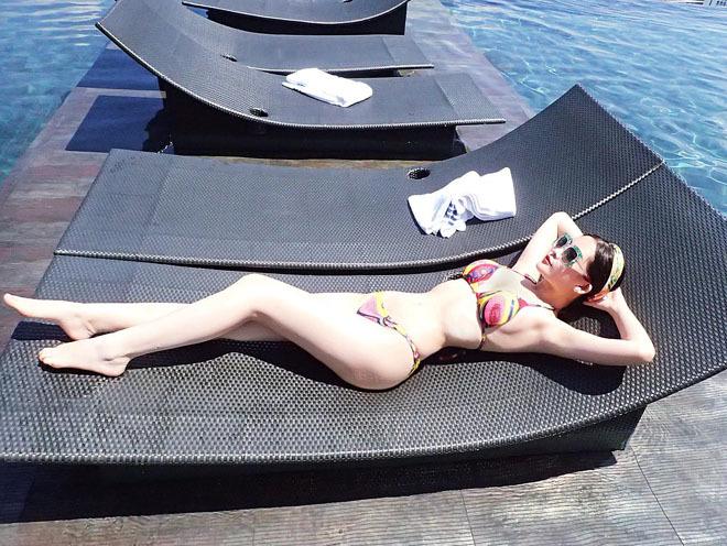 Lý do 'mỹ nữ Vũng Tàu đi xe 70 tỷ', Ngân Anh chỉ thích bikini