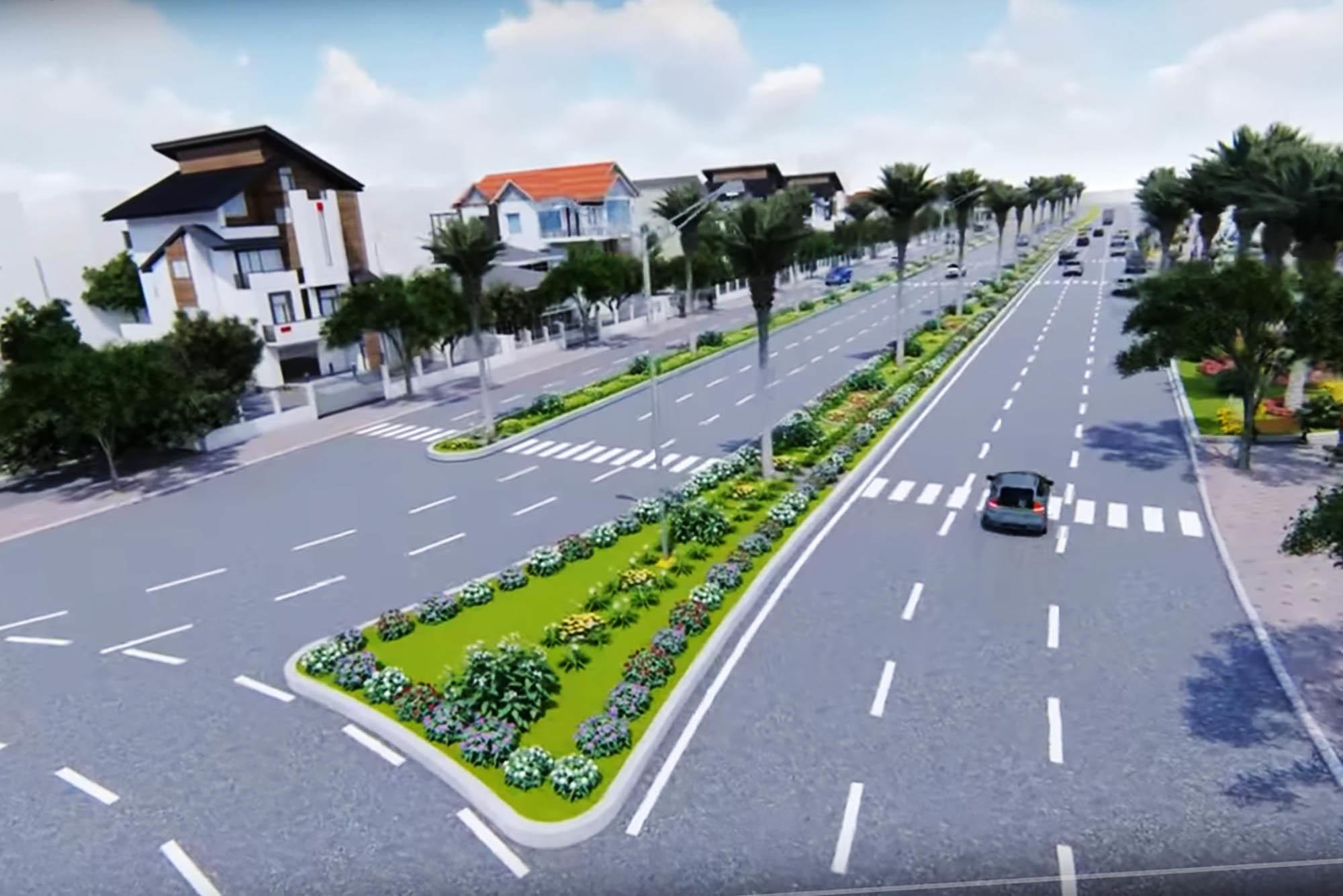 Quảng Ninh lấn 67.000m2 biển để mở rộng đường