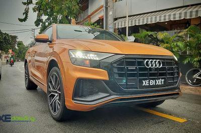 Audi Q8 đầu tiên ở Việt Nam lượn phố Sài Gòn