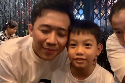 Trấn Thành 'câm nín' vì con trai Hà Hồ đối đáp quá đáng yêu