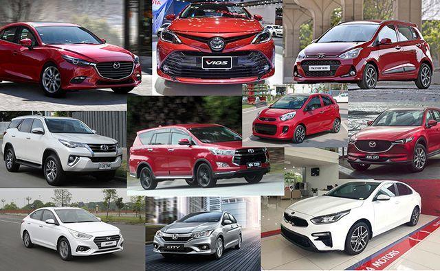 TOP xe bán chạy,Honda City,Toyota Wigo