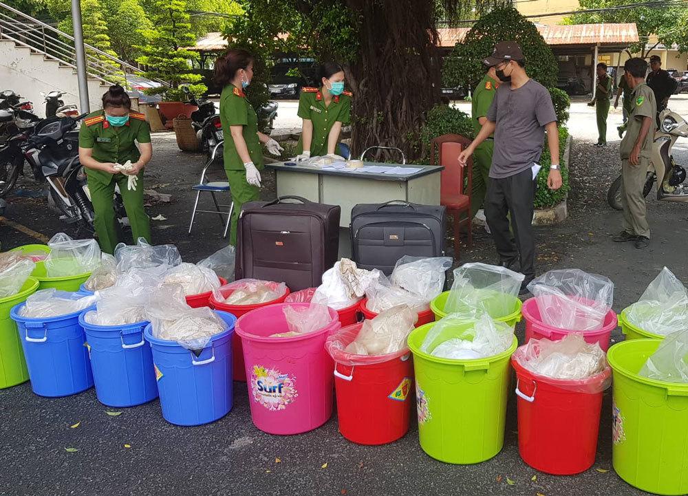 Hơn nửa tấn ma tuý của người Đài Loan bị bắt ở Sài Gòn