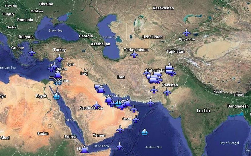 Mỹ,Iran,căn cứ Mỹ,căng thẳng Mỹ-Iran