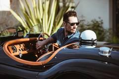 Ngắm ô tô Jaguar cổ đặc biệt được phục chế đẹp long lanh