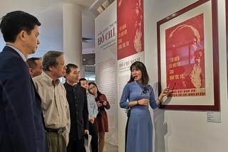 Propaganda poster exhibition honours President Ho Chi Minh in Hanoi
