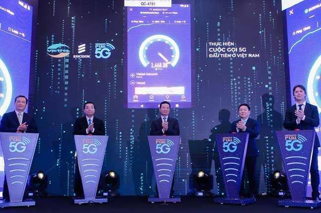 First 5G call in Vietnam successfully tested