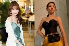 Ngọc Trinh, Chi Pu so độ gợi cảm với đầm hai dây và áo corset