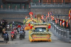 UN Day of Vesak: Motorcade parade
