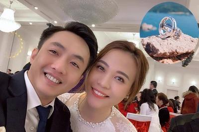 Đàm Thu Trang đăng ảnh nhẫn cưới, đồng ý làm vợ Cường đô la