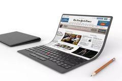 Intel: Sẽ có laptop uốn dẻo trong hai năm nữa