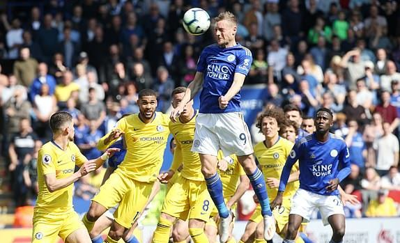 Leicester vs Chelsea,Hazard