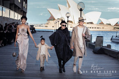 Vietnamese designer Do Manh Cuong holds fashion show in Australia