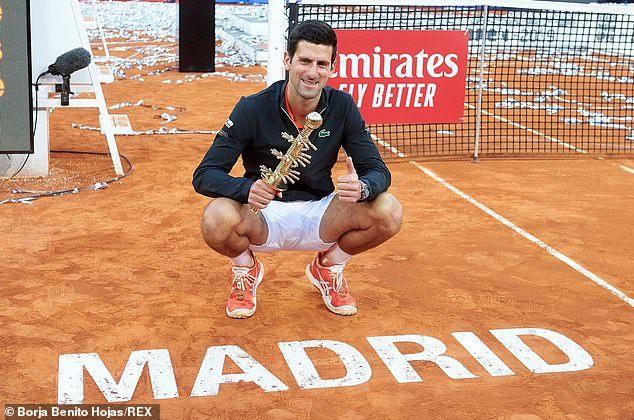 Giải mã hiện tượng Tsitsipas, Djokovic vô địch Madrid Open