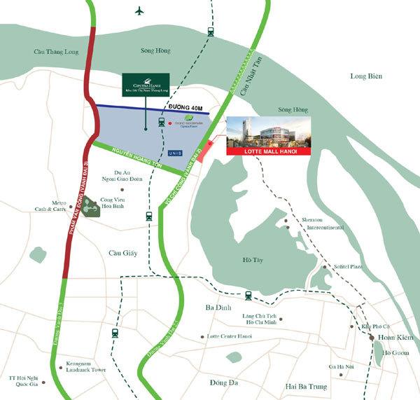 Bất động sản Tây Hồ hút giới đầu tư căn hộ cho thuê