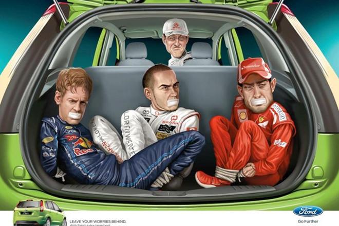 Những quảng cáo xe hơi thảm họa nhất thế giới