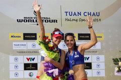 Russians win volleyball world tour in Tuan Chau island