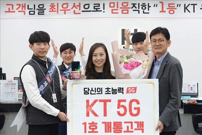Mạng 5G,5G,thuê bao 5G