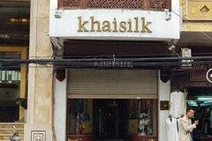 Cửa hàng Khaisilk tháo biển hiệu, lặng lẽ tu sửa bên trong