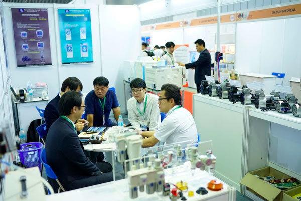 Vietnam Medipharm 2019 bùng nổ về quy mô