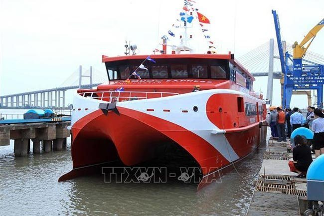 Can Tho-Con Dao high-speed ship's launch delayed