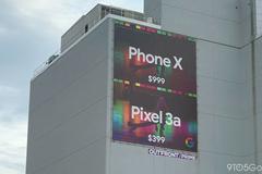 Google 'dìm' iPhone X bằng biển quảng cáo Pixel 3a