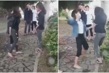 Bảo vệ bạn, nữ sinh ở Quảng Bình bị đánh gần 1 giờ