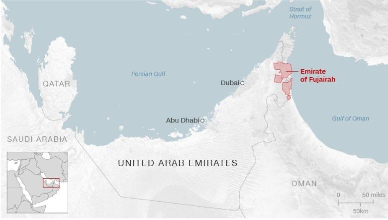 Ảrập Xêút,UAE,Các Tiểu Vương quốc Ảrập Thống nhất,dầu mỏ,hàng hải,Mỹ,Iran,Trung Đông,tấn công,phá hoại