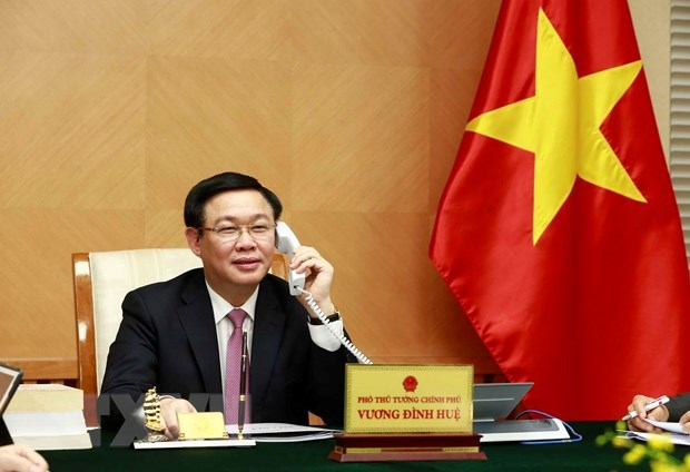 Phó Thủ tướng Vương Đình Huệ,Vương Đình Huệ,Việt-Mỹ,Việt Nam-Hoa Kỳ