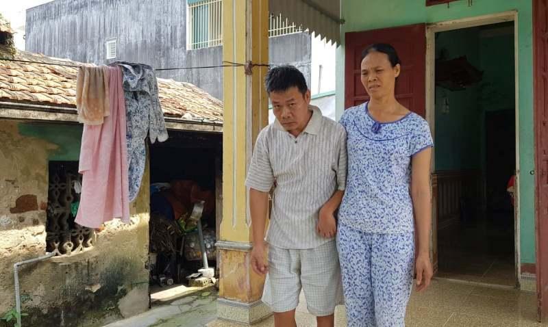 Chồng nhiễm chất độc da cam, vợ ung thư, con viêm thận không nơi bấu víu