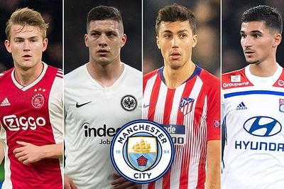 Man City vung 200 triệu bảng đại náo chuyển nhượng