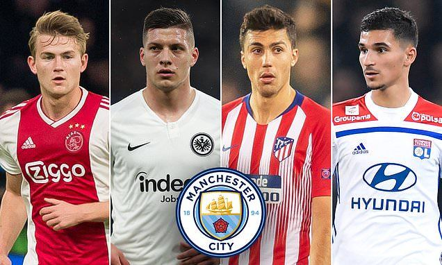 Man City,Pep Guardiola,Rodri,De Ligt