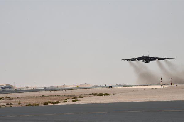 Mỹ,pháo đài bay,Iran,máy bay B-52,vũ khí