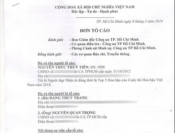 Nguyễn Thúc Thùy Tiên