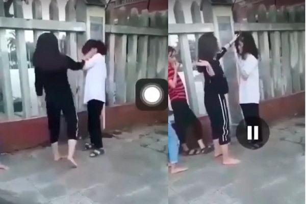 Thêm một nữ sinh ở Quảng Bình bị bạn tát và tung clip lên mạng xã hội