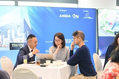 An Gia giới thiệu bất động sản ở Hong Kong