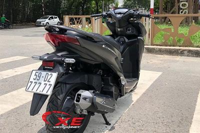 Trúng biển ngũ quý 7, xe máy Honda đội giá hơn 400 triệu