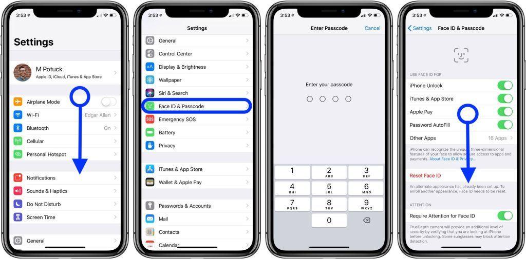 Cách đặt mật khẩu dạng ký tự để mở khóa iPhone, iPad