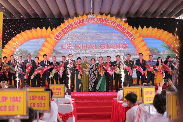 THCS-THPT Nam Việt tuyển sinh 850 học sinh lớp 10