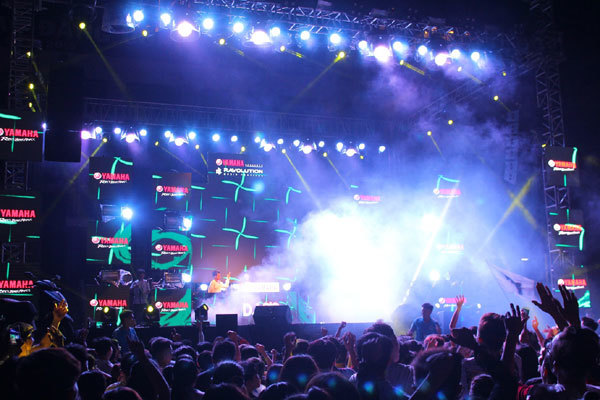 Cơ hội giành vé dự Yamaha Ravolution Music Festival