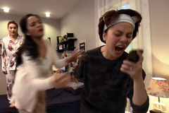 'Về nhà đi con' tập 24: Huệ bỏ về nhà, Ánh Dương gọi điện mắng anh rể