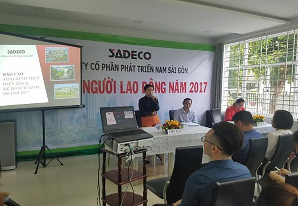 Bắt Tổng giám đốc Sadeco Hồ Thị Thanh Phúc