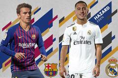 Barca và Real ồn ào mua sắm: Quyết không thua người Anh