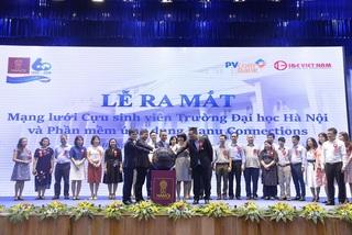 Ra mắt mạng lưới cựu sinh viên Trường ĐH Hà Nội