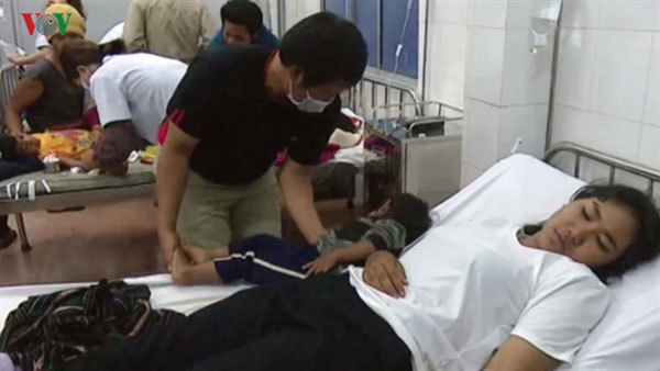 Food poisoning patients released from clinic