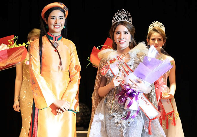 Thu Thao crowned Miss Beauty Vietnam International 2019