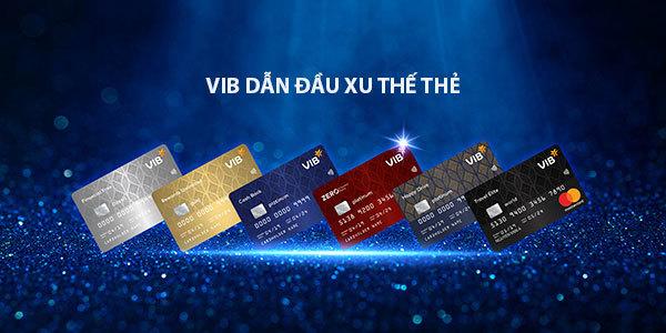 VIB vươn lên dẫn đầu doanh số chi tiêu thẻ tín dụng