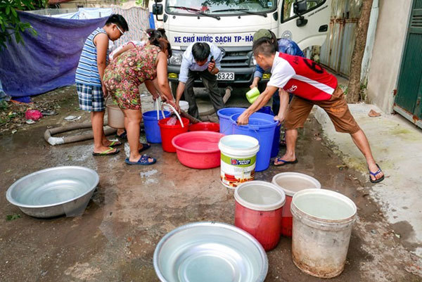 Fresh water shortage threatens 4,000 families in Kien Giang