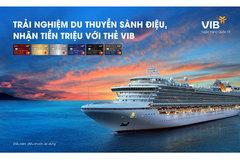 Du lịch bằng du thuyền vòng quanh châu Á cùng VIB