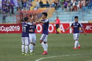 Thắng dễ Tampines, Hà Nội vào vòng knock-out AFC Cup