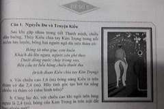 'Truyện Kiều' vào đề toán, học sinh phải tính bóng của Kim Trọng in trên mặt đất